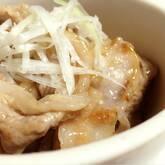 塩豚炒め丼