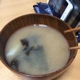 長芋とのりのみそ汁