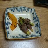 アスパラガスの牛肉巻き