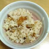 ゴボウの炊き込みご飯
