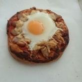 とろ~り半熟卵のピザビスマルク