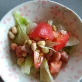 お豆のサラダ