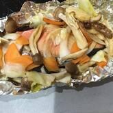 鮭のバターホイル焼き