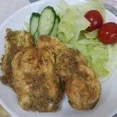 鶏肉の和風ピカタ