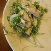 魚肉ソーセージのサラダ