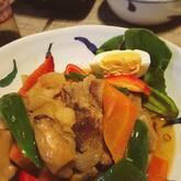 スペアリブの煮物