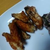 鶏手羽中の塩焼き