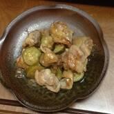 鶏肉の照り焼き梅風味