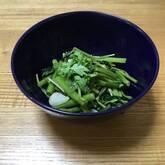空心菜のガーリックソテー