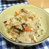 炒めヒジキの炊き込みご飯
