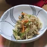 切干し大根とツナのサラダ