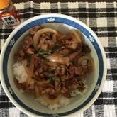 豚肉のハニーショウガ炒め