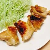 鶏のハチミツみそ焼き