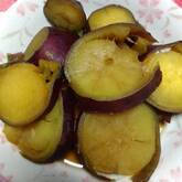 サツマイモの田舎煮