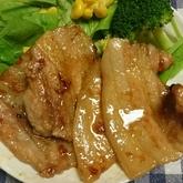 豚肉のオニオンジンジャー焼き
