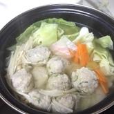 チキンボール鍋