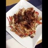 鶏もも肉のケチャップ焼き