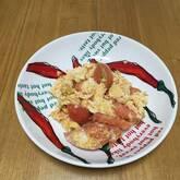 トマトと卵のショウガ炒め