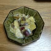 キノコとサツマイモのクリーム煮