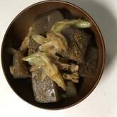 コンニャクの炒め煮