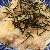 タラコバター混ぜご飯