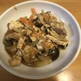 くずし豆腐炒め