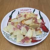 ポテトとベーコンの前菜