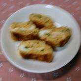 エノキ入り卵焼き