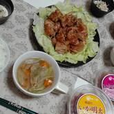 鶏肉の黒コショウ焼き