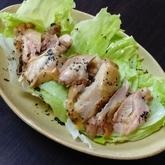 鶏肉のハーブバターソース