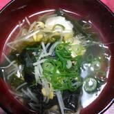 豆モヤシのスープ