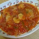 鶏肉のトマト煮込み