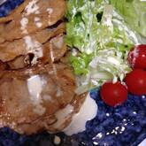 豚肉のオイスター焼き