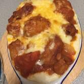 手作りトマトソースのグラタン