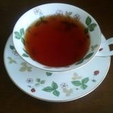 すりおろしショウガとハチミツの紅茶