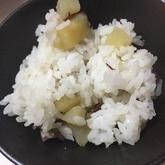 焼き芋たっぷり混ぜご飯