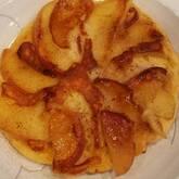 リンゴのパンケーキキャラメリゼ