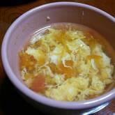 ふんわり卵のトマトスープ