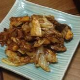 豚肉とエリンギの中華みそ炒め