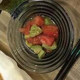 アボカドとトマトのマリネ