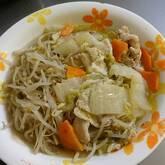 白菜と豚肉の酒鍋