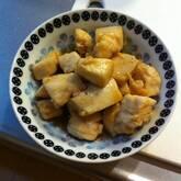 マグロのショウガ角煮
