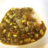 野菜と豆のカレー