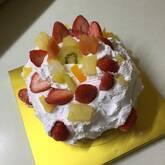 簡単ミニショートケーキ