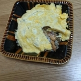 サンマの卵包みチャーハン