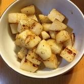 長芋のバターしょうゆ炒め
