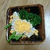 スティックセニョール ゆで卵とツナのソース