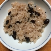 炊飯器で赤飯