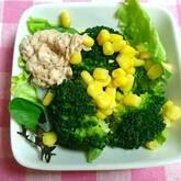 ブロッコリーとコーンのサラダ