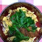 ウナギと卵の丼